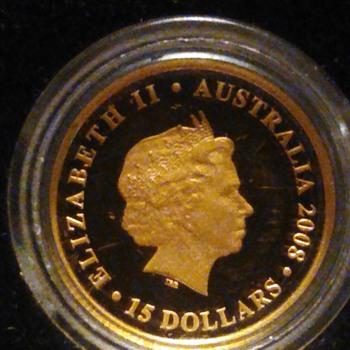 Australia $15 Gold coin - World Coins