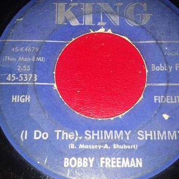 Mr. Bobby Freeman....On 45 RPM Vinyl Format - Records