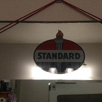 Standard Oil Mirror - Petroliana