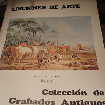 10 Beautiful Prints: J.E.Herring Sen's Fox Hunter - Posters and Prints