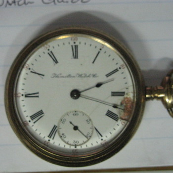 HAMILTON / RAIDROAD - DAVID 0827 - Pocket Watches