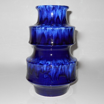 Cobalt Blue Western Germany #267, Circa 1950-70 - Pottery