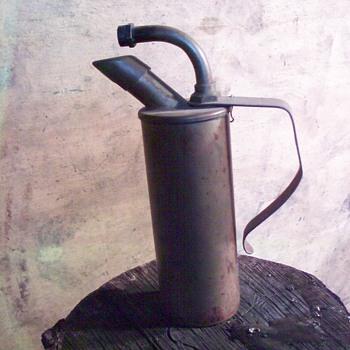 Brass lantern?possibly alcohol lantern