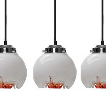AV Mazzega Murano Glass Pendant Lamps - Lamps