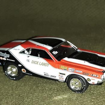 Johnny Lightning Legends Dick Landy 1970 Dodge Challenger Pro Stock 1/64 Scale - Model Cars