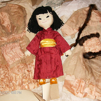 Lace & Fur Trimmed Doll Clothing  - Dolls