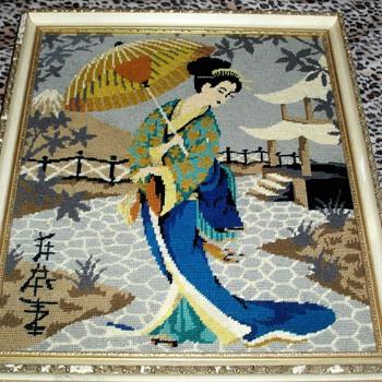 Japanese Tapestry Art - Asian