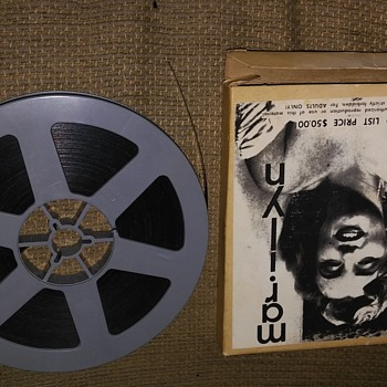 "Vintage ""Norma Jeane Dougherty"" aka ""Marilyn Monroe"" Super8mm Seductive Film"