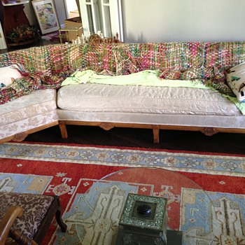 My Inherited Couch: Mid Century? Deco? Art Nouveau? - Furniture