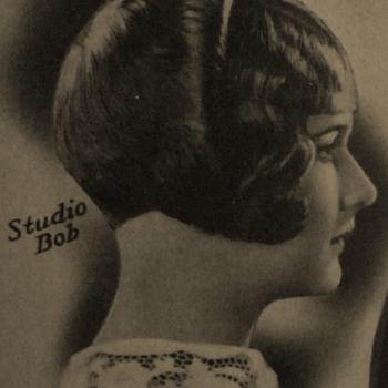 Hairstyle Shop Sign Art Deco Mah Studios - Advertising