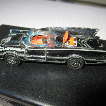1976 Die Cast Batmobile - Model Cars
