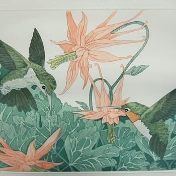 Judith Hall,American Artist, Etching, Circa 20 Century - Animals