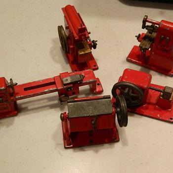 5 Steel Toys - shop equipment