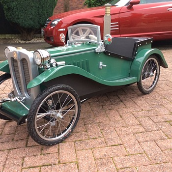 My latest creation mg tc pedalcar number three - Toys