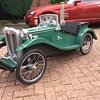 My latest creation mg tc pedalcar number three