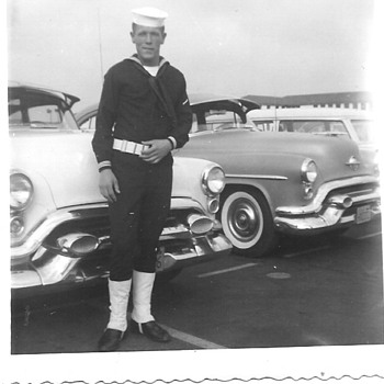 1958 Navy Boot Camp San Diego - Military and Wartime