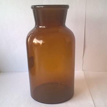 Brown Glass Bottle  - Bottles