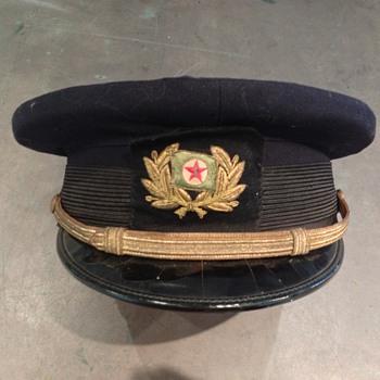Texaco hat or something else?