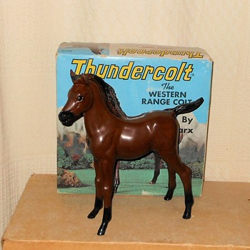 Marx Thundercolt from the Johnny West Series - Toys