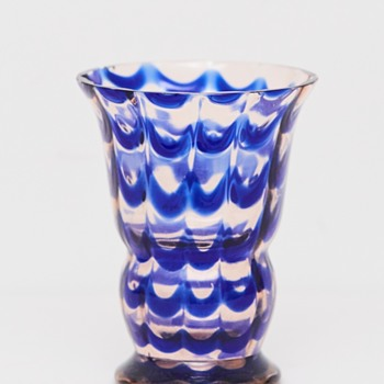 Art Deco Kralik Vase, 1930's - Art Glass