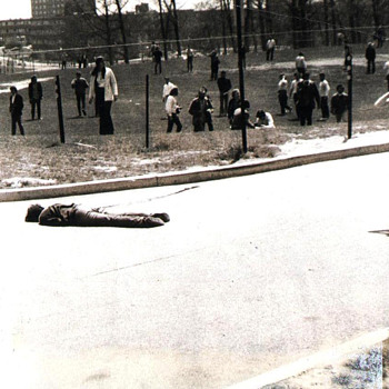 Original 1970 Kent State Massacre Jon Filo News Photo  - Photographs