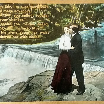 Could this be a marriage proposal? - Postcards