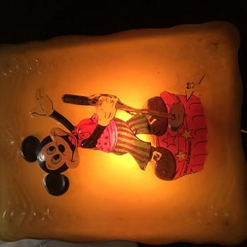 Walt Disney Productions Mickey Mouse light - Animals