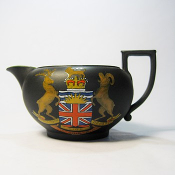 BLACK BASALT BY WEDGWOOD -ENGLAND /DATES 1898