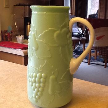 Mom's pitcher - Glassware