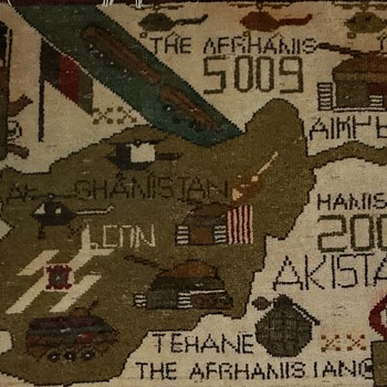 2008 Akistan Carpet - Military and Wartime