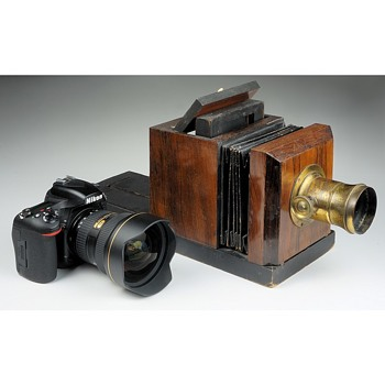 160+ Years of Camera Evolution - photographic state-of-the-art then and now.