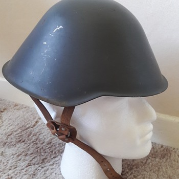 East German M1956 I/71 Helmet - Military and Wartime