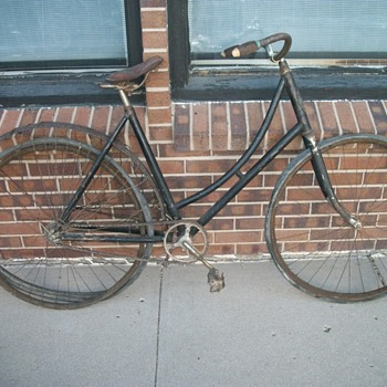 Antique 1890's Monarch Womens Bicycle Chicago - Sporting Goods
