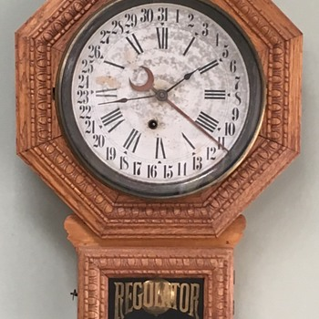 Regulator School Clock Calendar - Clocks