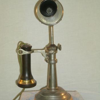 Eureka Electric Co. Adjustable Neck Taper-Shaft - Telephones