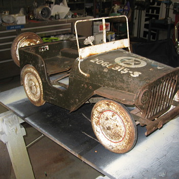 1947-50 Thistle Jeep (restoration project) - Model Cars