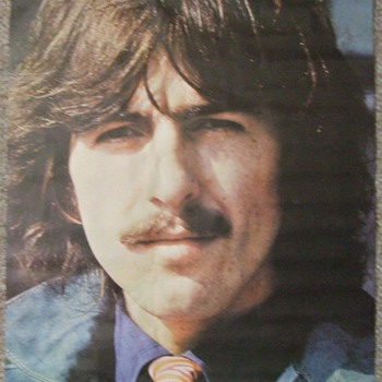 Vintage 1960's-Early 1970's Beatles-George Harrison Poster Collection - Music Memorabilia