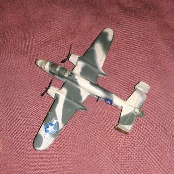 Bachmann Mini-Planes Mitchell Bomber B-25 1970's - Toys