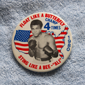 Four Boxing Promotional Pins Boxing Pins - Medals Pins and Badges