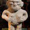 Carved Stone Standing Sukia - female