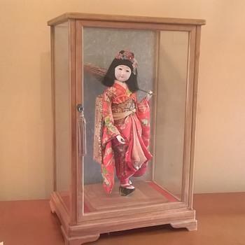 My Gofun meiji period doll