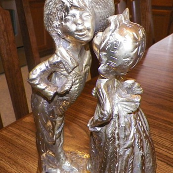 My Favorite Brass Figurine - Folk Art