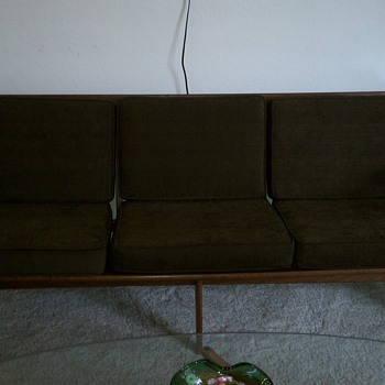 Newly acquired Mid Century Sofa - Made in Italy? - Mid-Century Modern