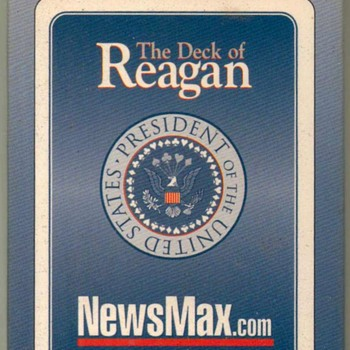 """Ronald Reagan"" Playing Cards - Cards"