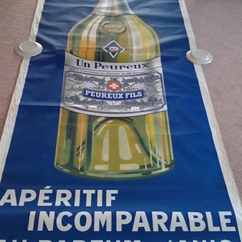 Giant french absinthe poster - Advertising