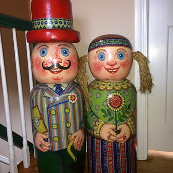 My Big Wooden Ukranian Folk