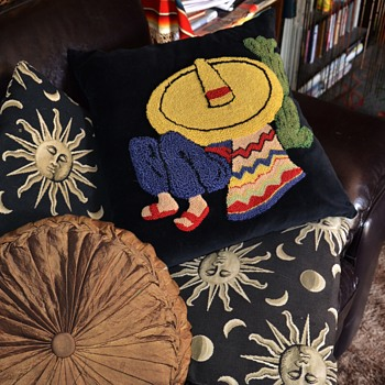 Mexican Siesta - themed throw pillow - Sewing