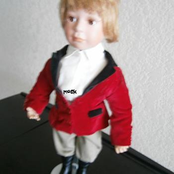 Yesterday's Child Procelain Doll - Dolls