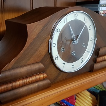 Urgos Art Deco Mantle Clock finished - Art Deco