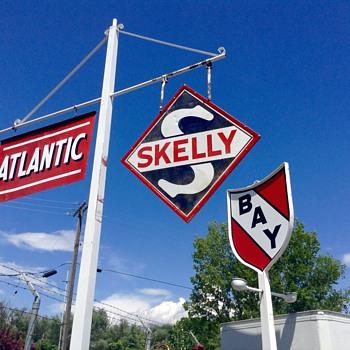 Skelly sign - Petroliana